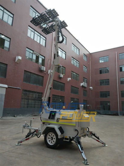 Fluid Bunding Hydraulic Emergency 48V DC LED Mobile Light Tower pictures & photos