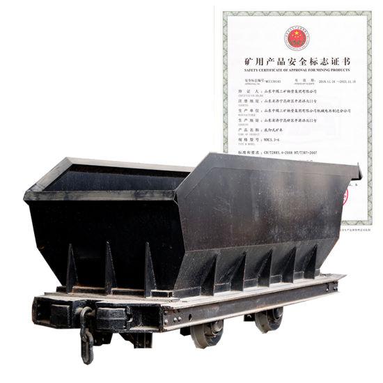 Mdc Series Underground Mining Bottom Dump Ore Car Mining Transport Equipment