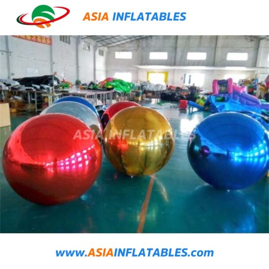 Colorful Mirror Ball Inflatable Ball for Fashion Show Decoration pictures & photos