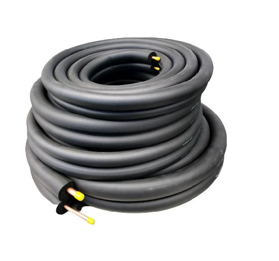 Rubber Insulation Tube Pipe for Air Conditioner Insulated Copper Tube