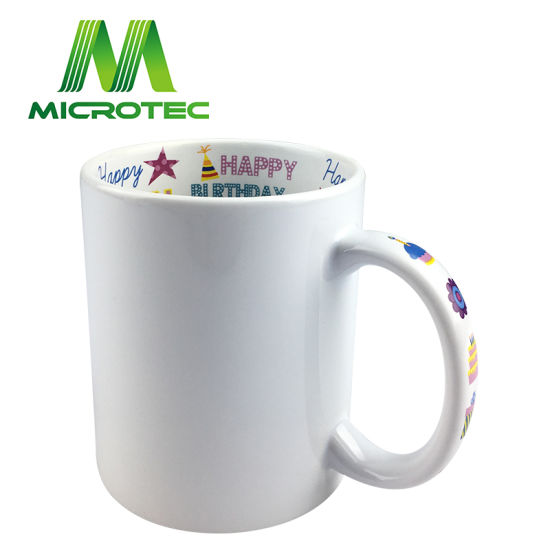 Sublimation Coated 11oz Theme Mug for Holiday Gifts pictures & photos
