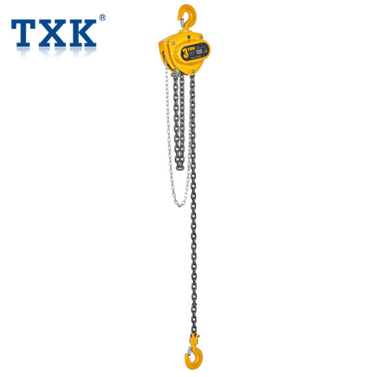 hsz type 3 ton manual chain hoist with single chain pictures & photos