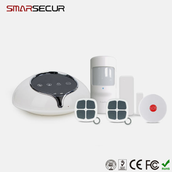 Android/Ios APP Control WCDMA 3G Alarm System Wireless Home Security