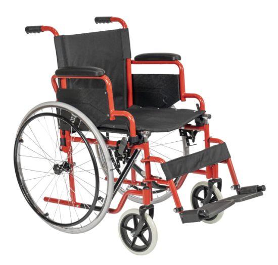 Durable Manual Folding Elderly Lightweight Wheelchair