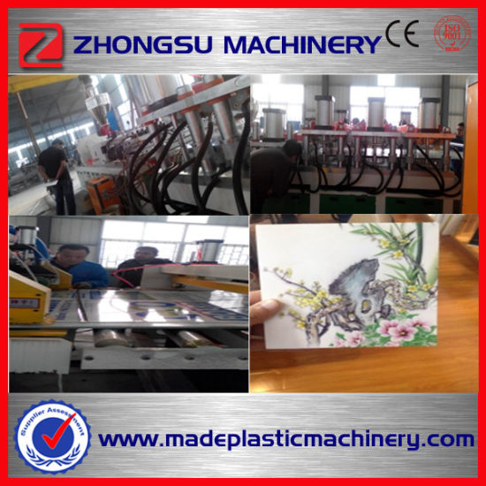 Multi-Layer WPC-80/173 WPC Foam Board Making Machine with Advanced Technology pictures & photos