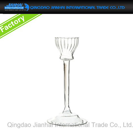 Hot-Sale Desktop Glass Candle Stand with New Design pictures & photos