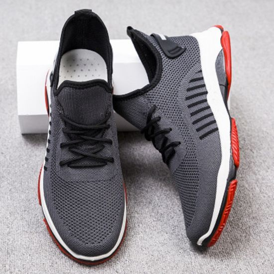 Men/'s Slip On Running Breathable Shoes Sports Walking Athletic Sneakers Casual