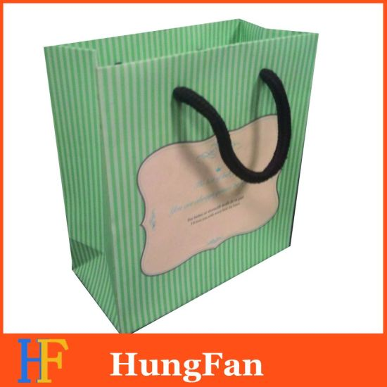 2018 Hot Selling Luxury Designed Gift Paper Bag pictures & photos