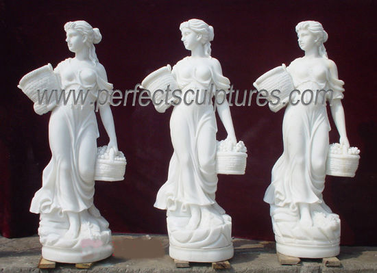 Carved Marble Statue Stone Carving Sculpture Garden Furniture for Decoration (SY-X1079) pictures & photos