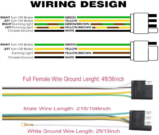 Trailer Wiring Diagram 4 Pin from image.made-in-china.com