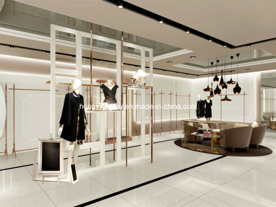 Furniture Fixtures And Equipment Interior Design ~ China high end garments showroom display lady clothing