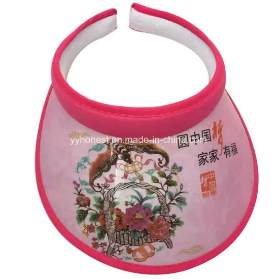 7bf74715 China Fashion Latest Design Plastic Sun Visor PVC Hats - China Sun ...