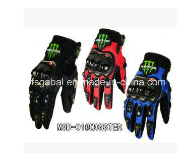 Monster Energy motorcycle Knight Racing Cycling Sports Gloves