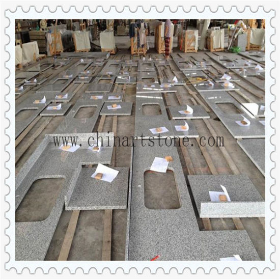 Chinese White Granite Kitchen Countertop for Home and Hotel Project