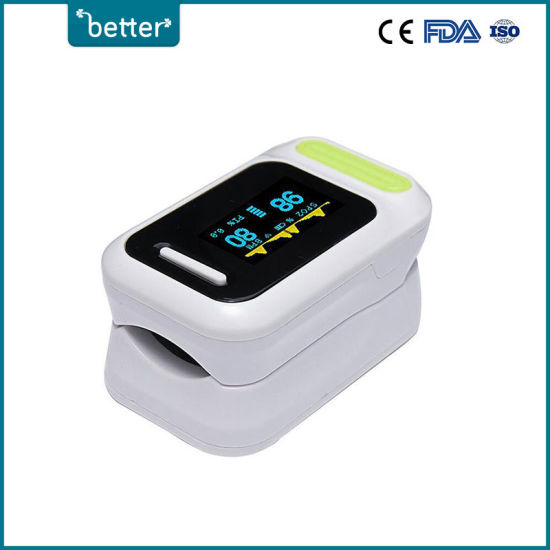 OLED Display Medical Finger Pulse Oximeter for Adult/Baby Use with Ce
