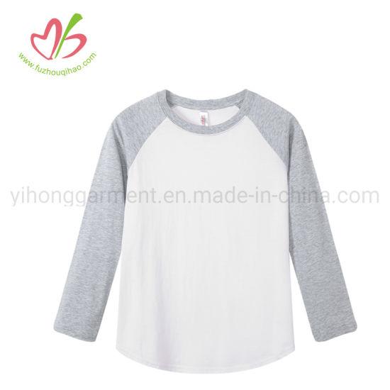 Spring/Autumn Long Sleeve Raglan T-Shirt Many Colors