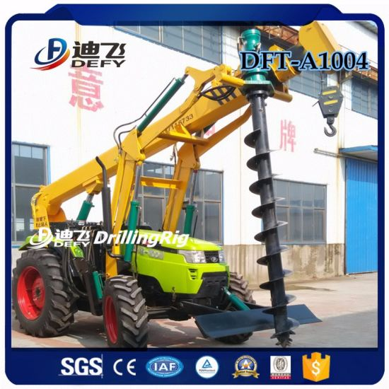 0-6m Small Auger Digging Drilling Machine