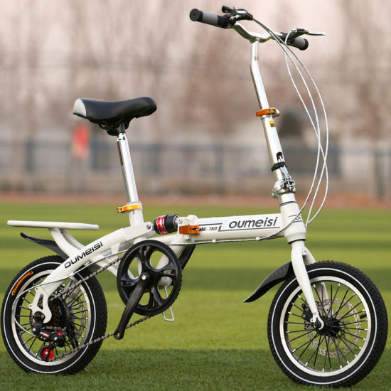 New Style 20 Inch Folding Bike/Foldable Bicycle with Aluminum Wheel Rim