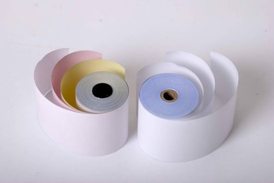 Carbonless Copy Paper in Rolls for Making Recipts for Office pictures & photos