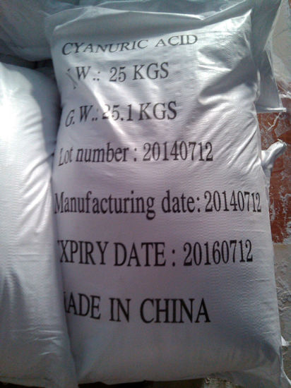 98%Cyanuric Acid (CAS: 108-80-5) with High Quality pictures & photos