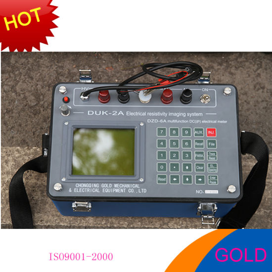 Underground Water Detector, Ground Water Detector, Ground Water Detection, Dzd-6A Resistivity Meters for Ground Water Exploration, Geophysical Resistivity Meter pictures & photos