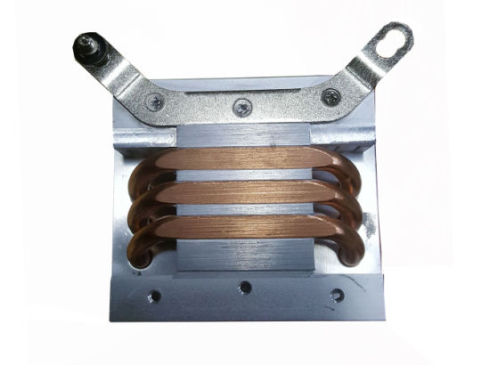 Customized Heat Sink with Copper Sintered Heat Pipes