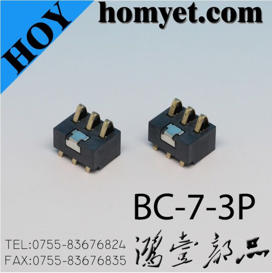 3pin Battery Holder Connector for Mobile Phone (BC-7-3P)