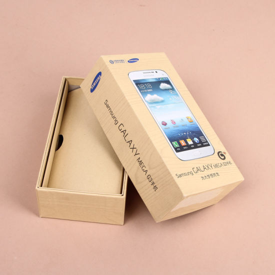 Smart Phone Box/Mobile Phone Case/Cell Phone Gift Packaging Box with Color Printing pictures & photos