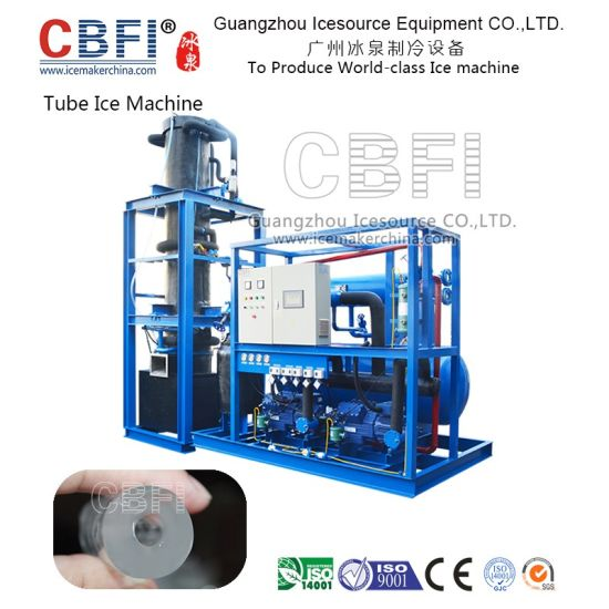 High Quality 20 Tons Tube Ice Machine for Hotel, Bars, Restaurant pictures & photos