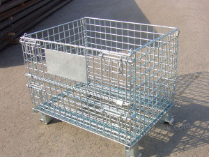 Wire Mesh Container, Storage Mesh Container, Mesh Container