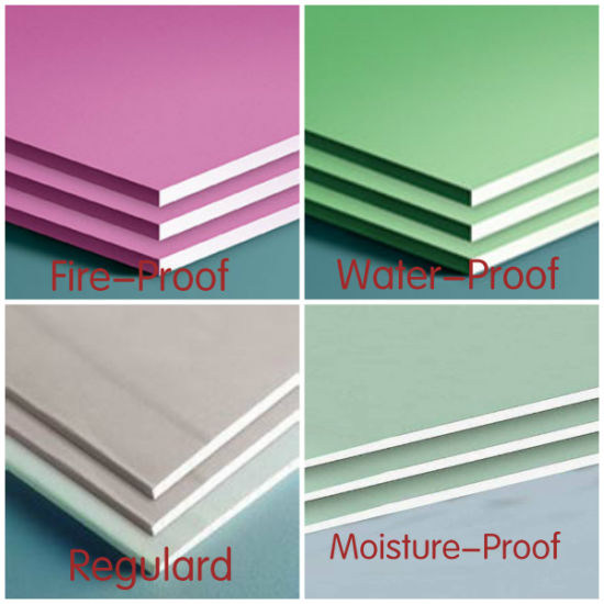 9mm, 12mm Gypsum Board Manufacturer for Ceiling, Partition
