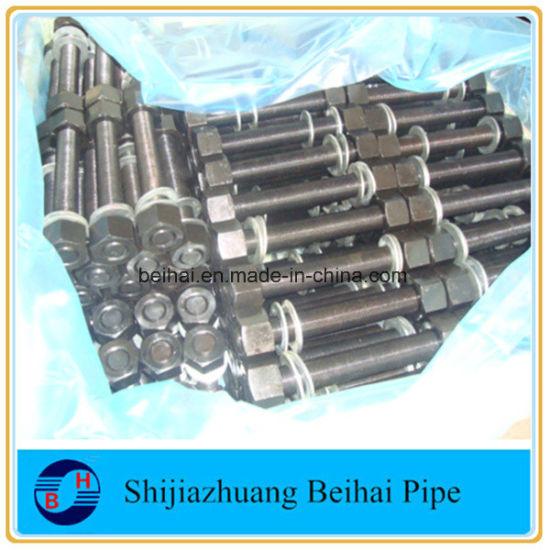 Stainless Steel A320 L7 L7m Stud Bolt M12 M16 M20 M8, M30 B7 Stud Bolts