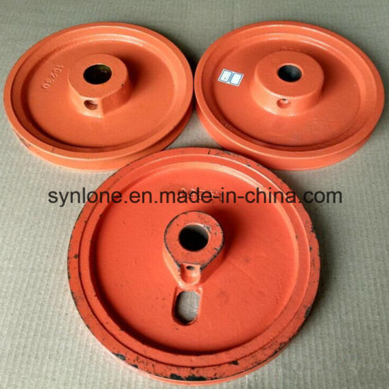 Iron Casting Pulley Wheel Parts with Machining pictures & photos