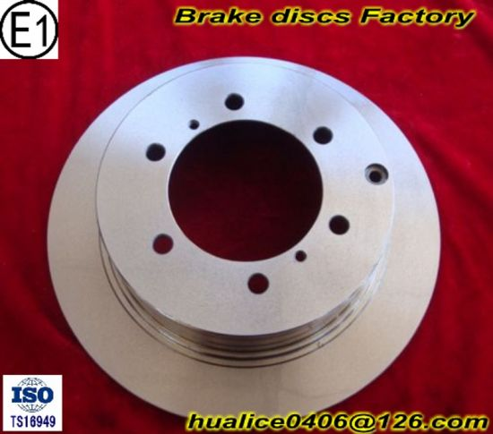 Ts16949 Certificate and SGS Certificate Approved Brake Rotors pictures & photos