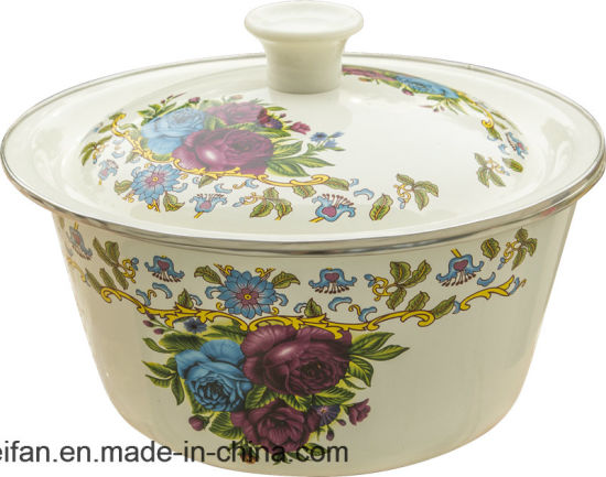 Thicken Enamel Washing Bowl/Finger Bowl pictures & photos