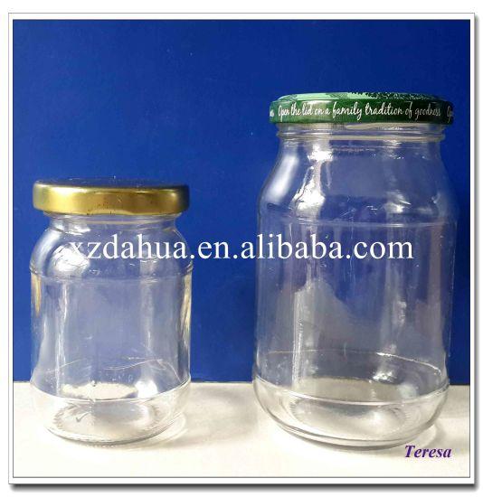 150ml 370ml Glass Jar with Metal Cap