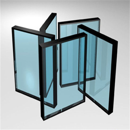 Double Glazed Low-E Coated Insulated Glass for Door, Windows
