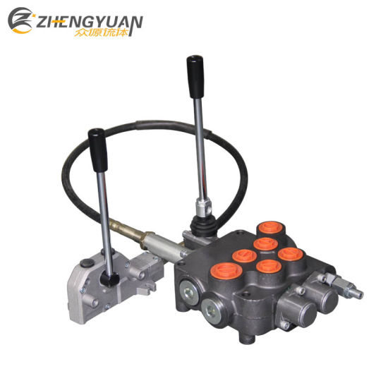 China Hydraulic Directional Control Valve Block with Remote