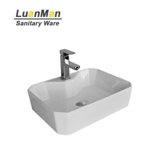 china high quality cheap vessel sink ceramic fancy sinks bathroom