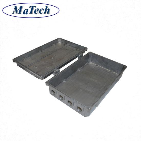 Housing Cover Parts Aluminum Alloy Casting Die Cast Box