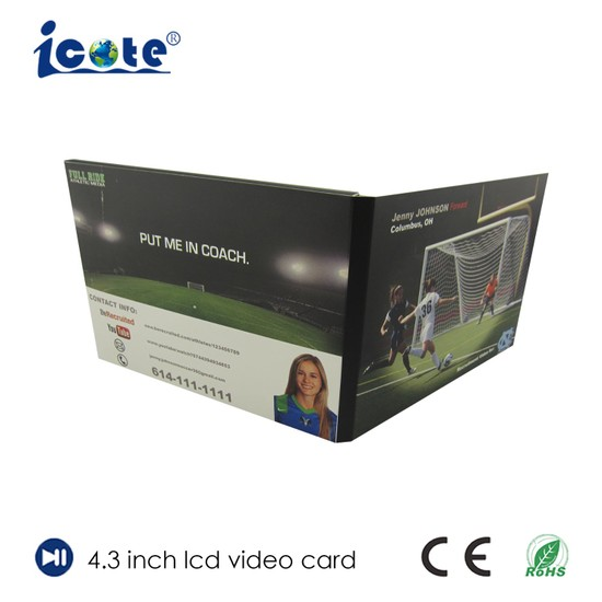 China hot selling a5 a4 format 43 5 7 business card with lcd hot selling a5 a4 format 43 5 7 business card with lcd reheart Image collections