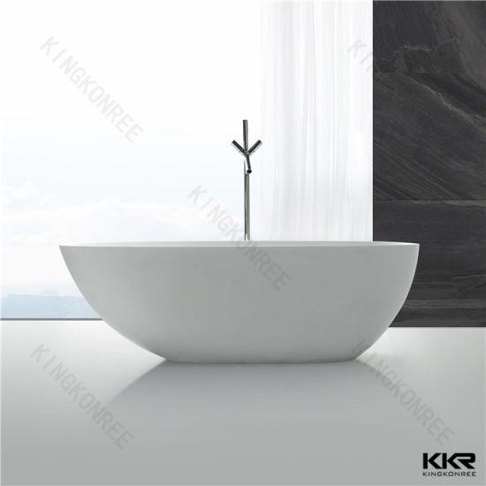 Great Acrylic Solid Surface Corian Freestanding Bathtub