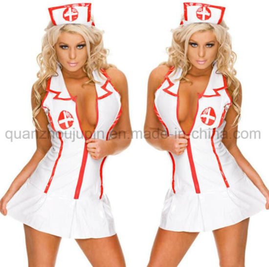 OEM New Sexy Cosplay Underwear Lingerie Nurse Costume pictures & photos