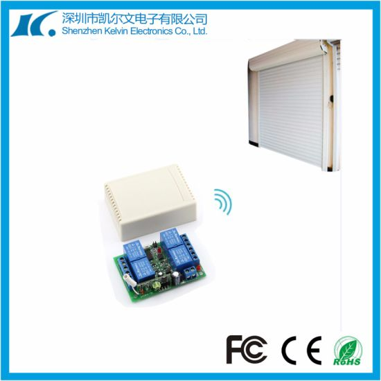 Universal Wireless 4-Channel Learning Code RF Remote Controller