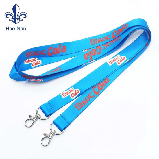 Custom Promotional Printing Polyester Lanyard with Card