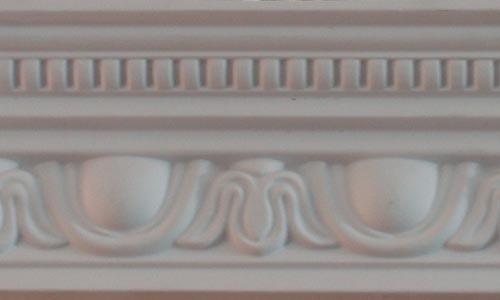 Decorative Ceiling Polyurethane Cornice Mouldings Top Rank PU Cornice