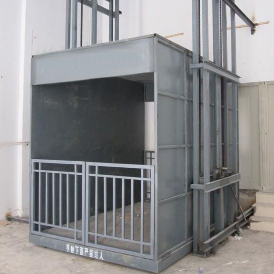 Tavol Electric Hydraulic Indoor or Outdoor Usage Cargo Lift pictures & photos