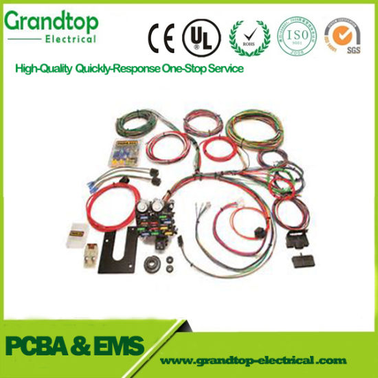 china electric cable wiring harness manufacturer produces custom rh nick lee en made in china com Vehicle Wiring Harness Wiring Harness Connector Plugs