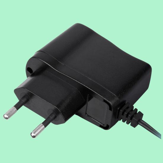 5W VDE Black External Wall-Mount AC/DC Adaptor