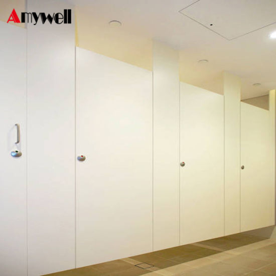China Amywell Ce Approved Mm Formica Laminate Public Phenolic - Phenolic bathroom partitions